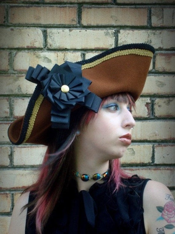 Pirate hat drawing side view - photo#12