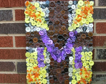 The Cross Wall Art from Buttons