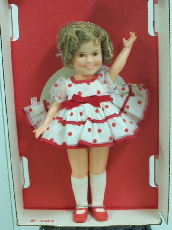 Vintage Shirley Temple Doll  Stand up and Cheer 1973