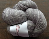 Bittersweet Woolery Sweet Nothings Silken Lace Yarn in STERLING