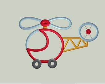 Helicopter Applique Design