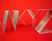 Empire Letters - Metal Sculptures for Shelves, Desks