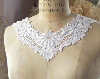 1 applique neck collar yoke
