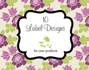 10 Custom Label Designs for your Products