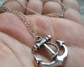 Ship's Anchor Necklace