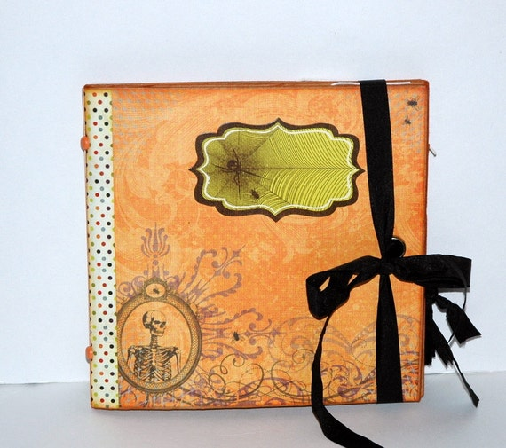 "Halloween ""Hocus Pocus"" - Paper Bag Album - Scrapbook -  Journal"