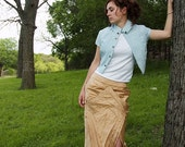 100% Silk Kite Inspired Skirt and Jacket size 6 8 10