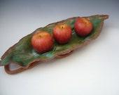 OOAK Stoneware Leaf