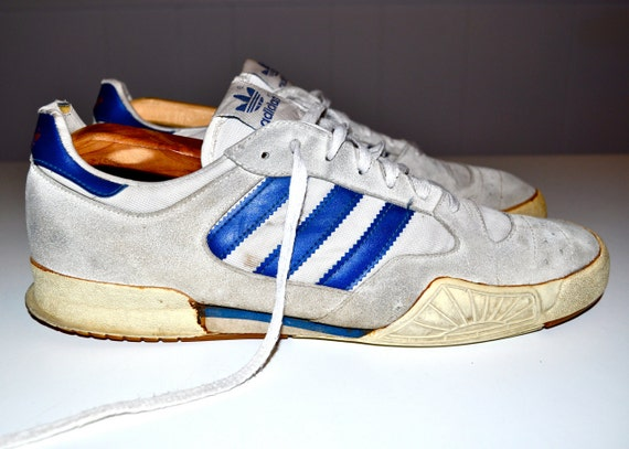 ADIDAS 1980s Vintage Sneakers Tennis Shoes Low Profile Mens 10