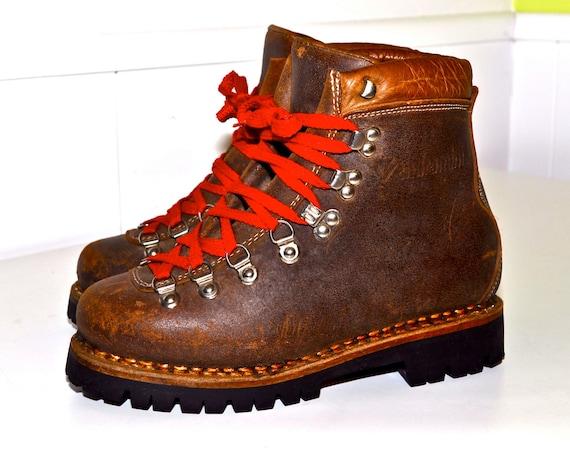 vendramini italian hiking boots vintage alpine mountaineering