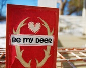 Be My Deer Valentine Card for Him