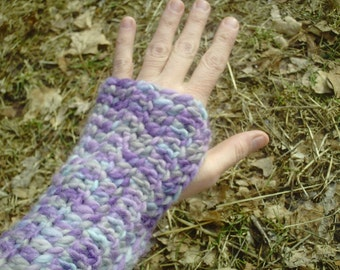 Felted Wool Armwarmers