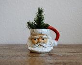 Vintage Santa Face Mug 1951