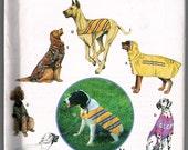 Simplicity Large Dog Clothing Pattern  FREE SHIPPING