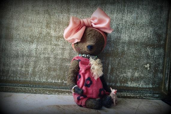 NEW PDF Epattern for 7 inch Teddy Bear Kira by Sasha Pokrass