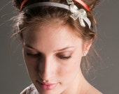 SALE - Sweet Surrender Beaded Bow Headband