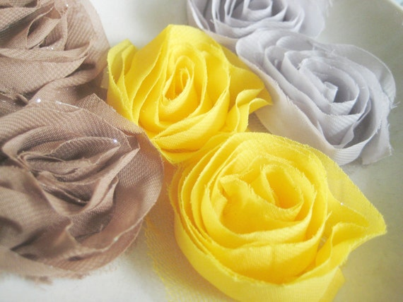 Lush and Lovely Shoe Clips - Three color choices