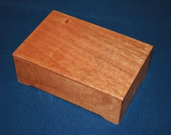 Mahogany  Wood  Box