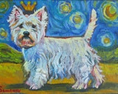 West Highland Terrier in Dreamland