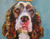 English Springer Spaniel Art Print by Gena Semenov - FREE Shipping USA