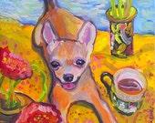 Chihuahua Art Print FREE Shipping USA
