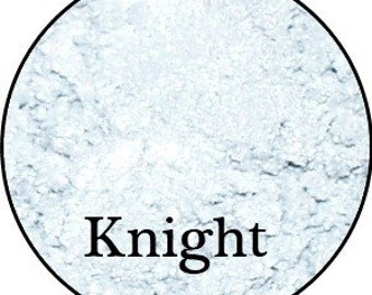 KNIGHT Metallic Silver White Mineral Makeup Pigment