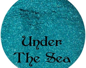 Teal Mineral Eyeshadow UNDER THE SEA