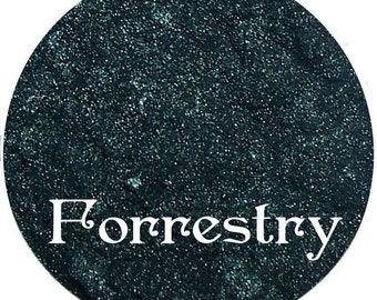 Dark Green Eyeshadow FORRESTRY