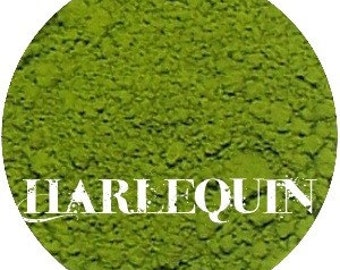 Matte Lime Green Eyeshadow  HARLEQUIN
