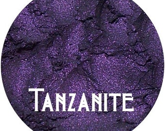 Purple Eyeshadow  TANZANITE  Rich Jewel Tone