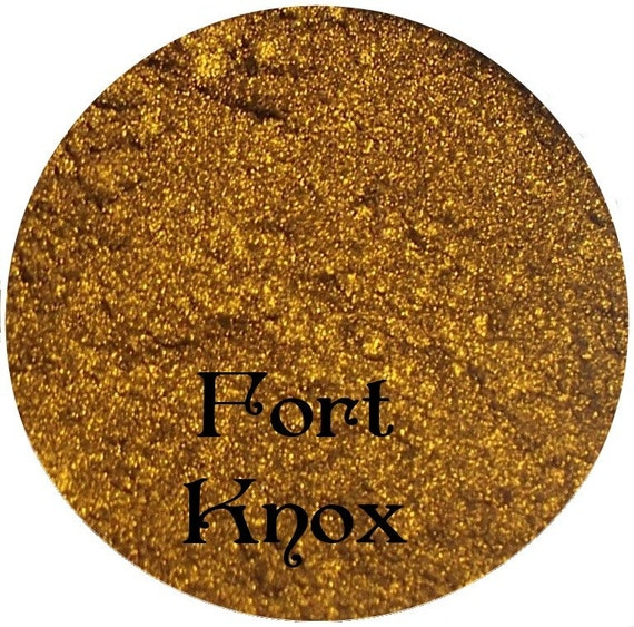 Metallic Gold Mineral Eyeshadow Pigment FORT KNOX