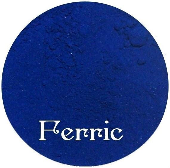 FERRIC Dark Blue Matte Eyeshadow Mineral Makeup