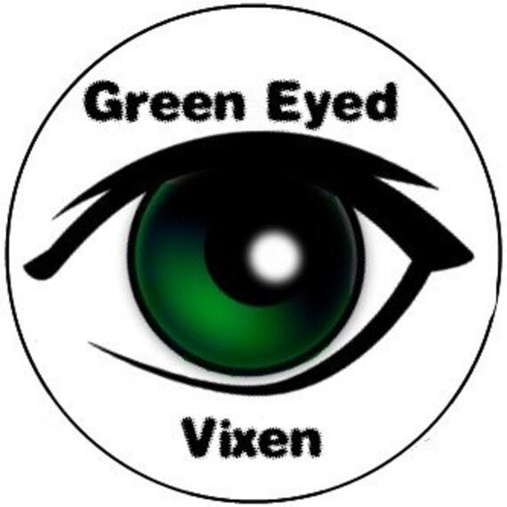 Green Eyed Vixen 7 Piece Stackable Eyeshadow Set for Green Eyes