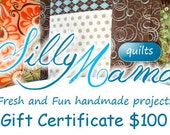One Hundred Dollar Gift Certificate - FREE SHIPPING