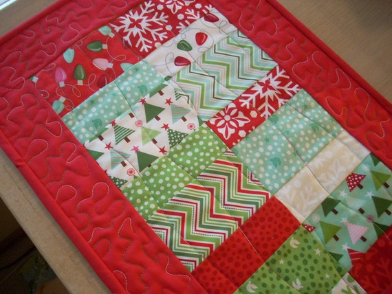 Joy with red placemat - FREE SHIPPING