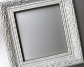 Shabby and Chic Frame, Cottage Frame, White Frame, Vintage Frame, French Country, Paris Apartment