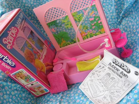 Sale Barbie Bathtub And Shower In Box Mattel 1981