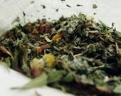 Dried herb bag, poop fairy  mix