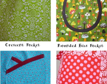 Apron Pocket Tutorial and Patterns - Pocket Pack 1 #115