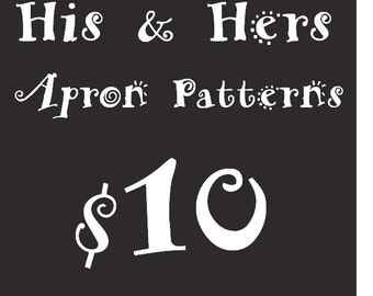 His and Hers PDF Pattern Package Bundle