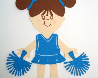 Cheerleader paper doll