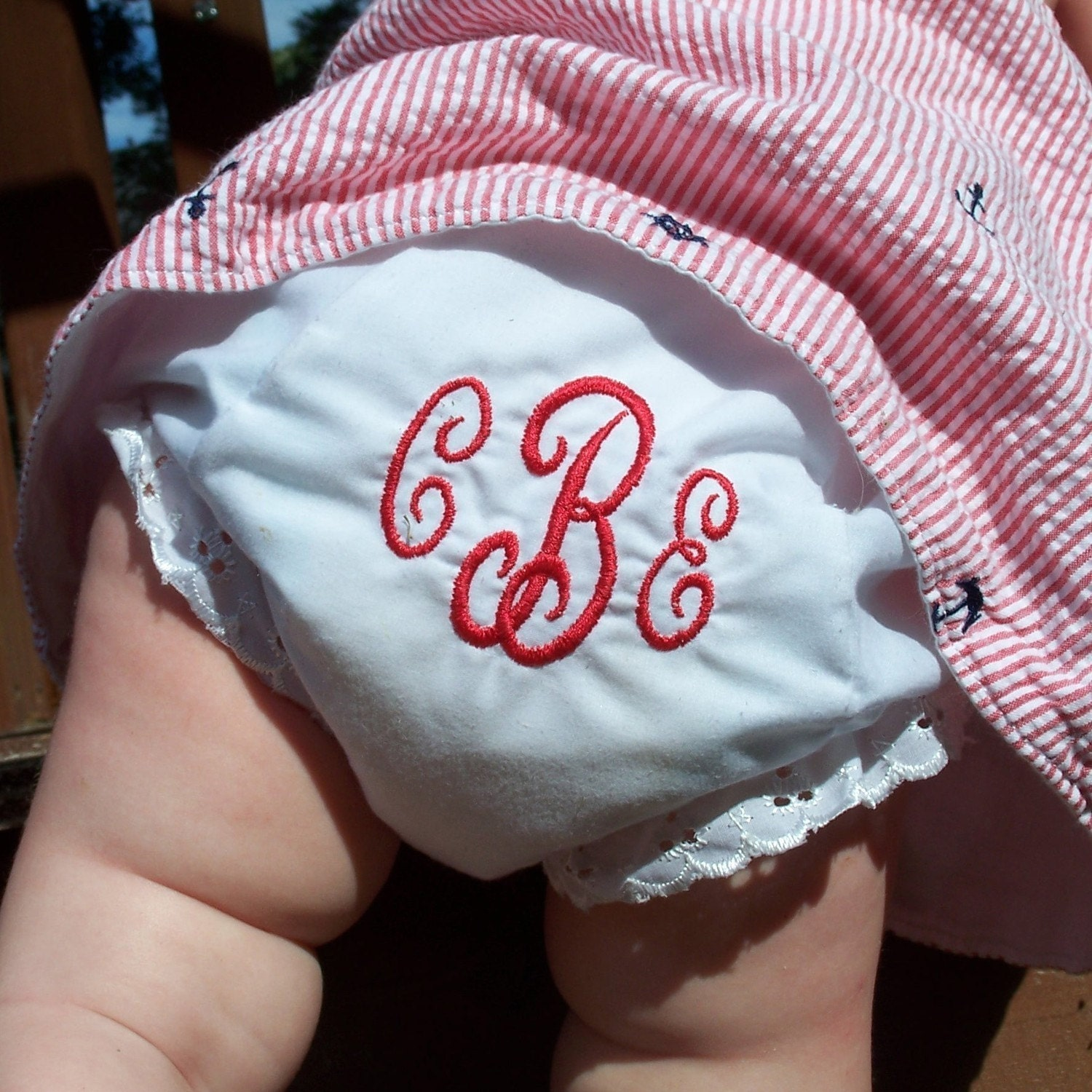 Toddler Diaper Cover Monogrammed Personalized Baby Girl