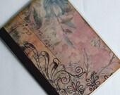 Lavendar Letter PASSPORT COVER