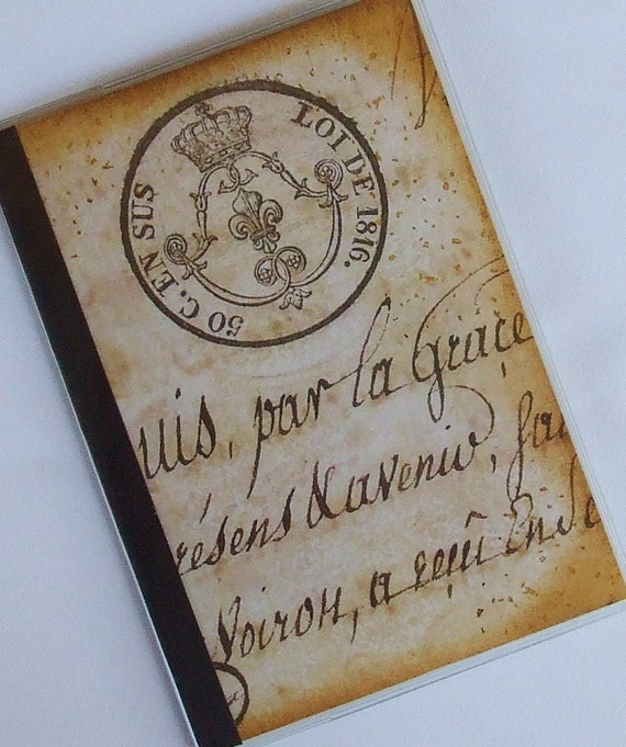 PASSPORT COVER - French Letter