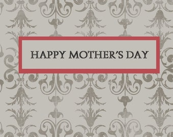 Greeting Card Mother's Day DIY Printable