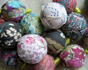 Liberty of London Fabric Beads