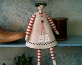 Handmade Advent Doll