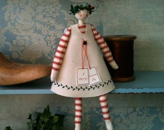 Handmade Advent Doll
