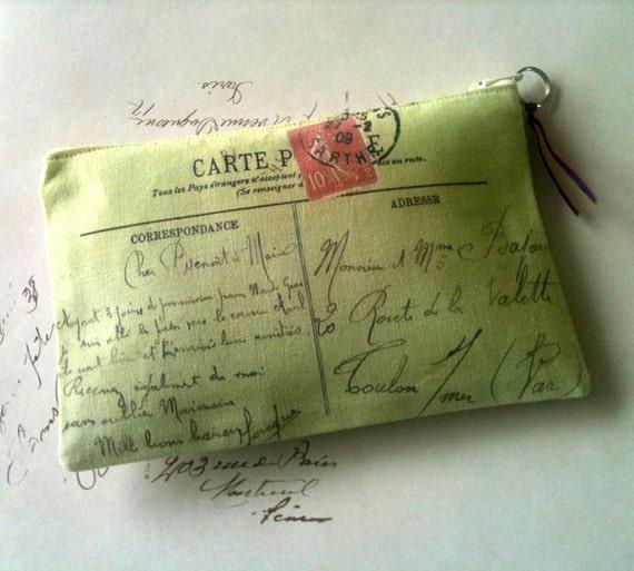 Carte Postale purse