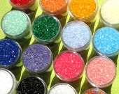 Sparkling Sugar Sprinkles - PICK 1 COLOR (medium 2 oz size jar)